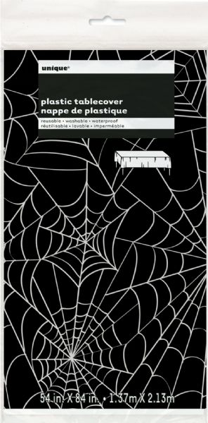 Spider Web Plastic Tablecover (1)